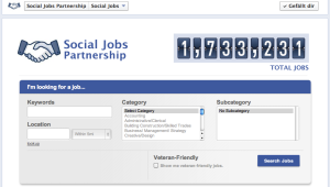 Social Jobs bei Facebook
